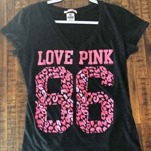 Pink Victoria's Secret shirt. Size large